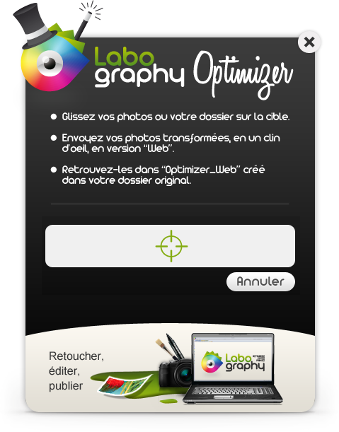 Labography Optimizer. Le Widget pour Microsoft Windows